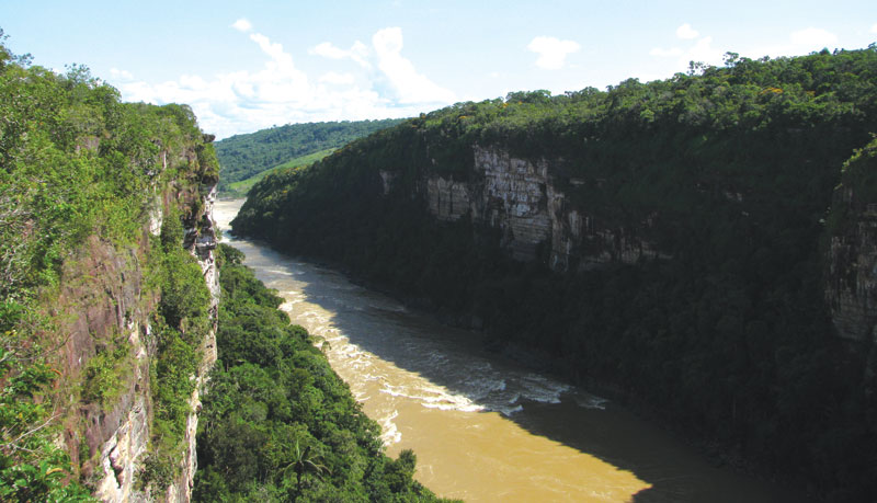 The gorges and canyons of the Caqueta department are opening up to tourism after decades of insecurity.