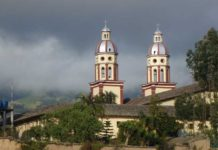View of colonial Pasto, capital of Nariño.