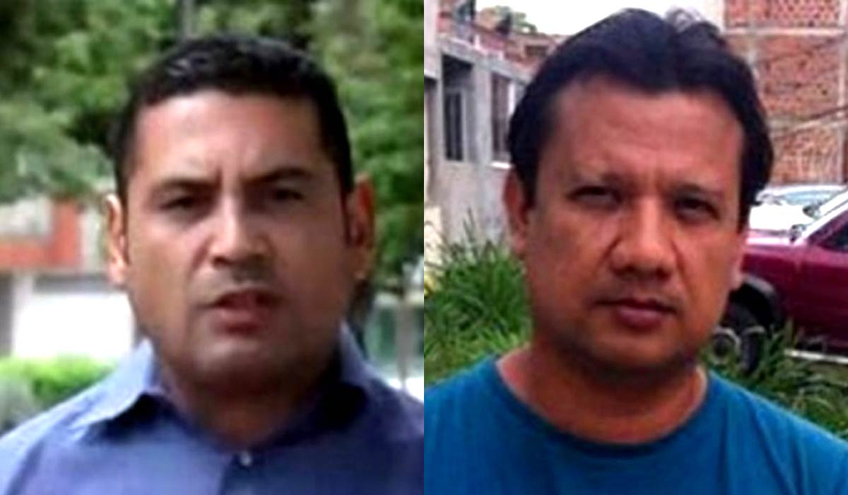 RCN reported Tuesday that two journalists, Diego D'Pablos and Carlos Melo had gone missing in Colombia's Catatumbo region.