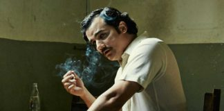 "Wagner Moura plays Pablo Escobar in the hit Netflix series ""Narcos."""