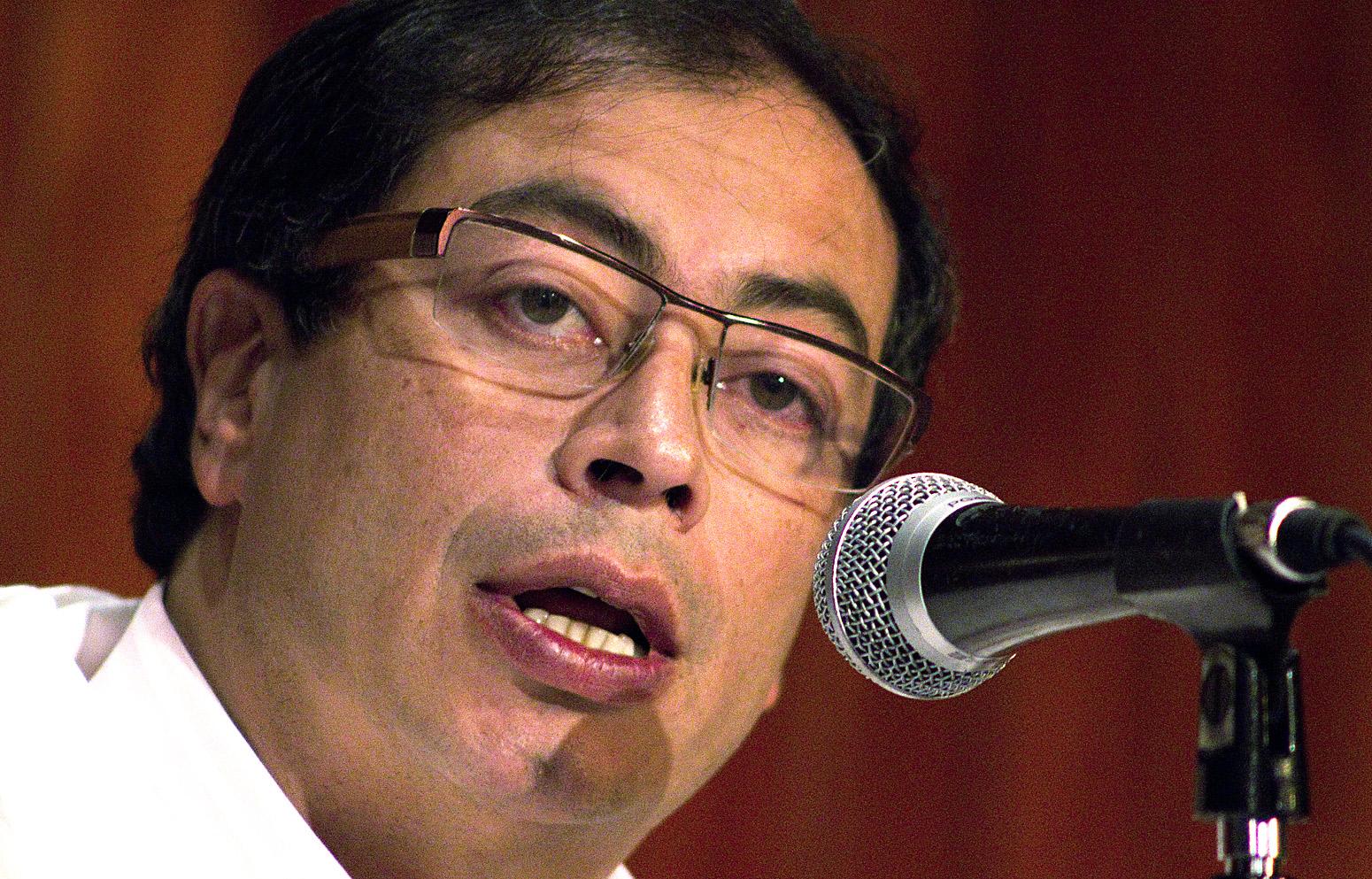 Bogota Mayor Gustavo Petro Mayor Gustavo Petro