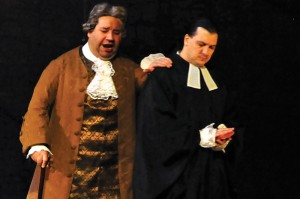 Valeriano Lanchas in Manon, courtesy Opera de Colombia