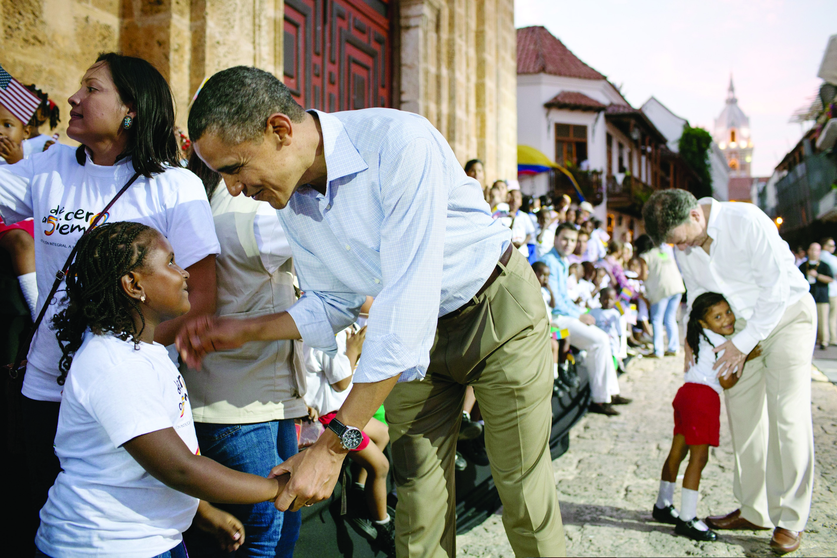 Obama in Cartagena