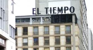 El Tiempo building in downtown Bogotá