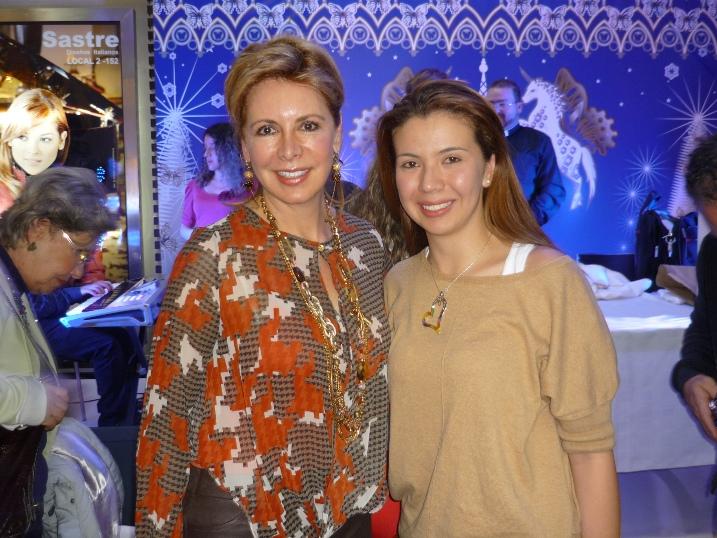 Alessandra Santoro and Natalia Marín Hernández