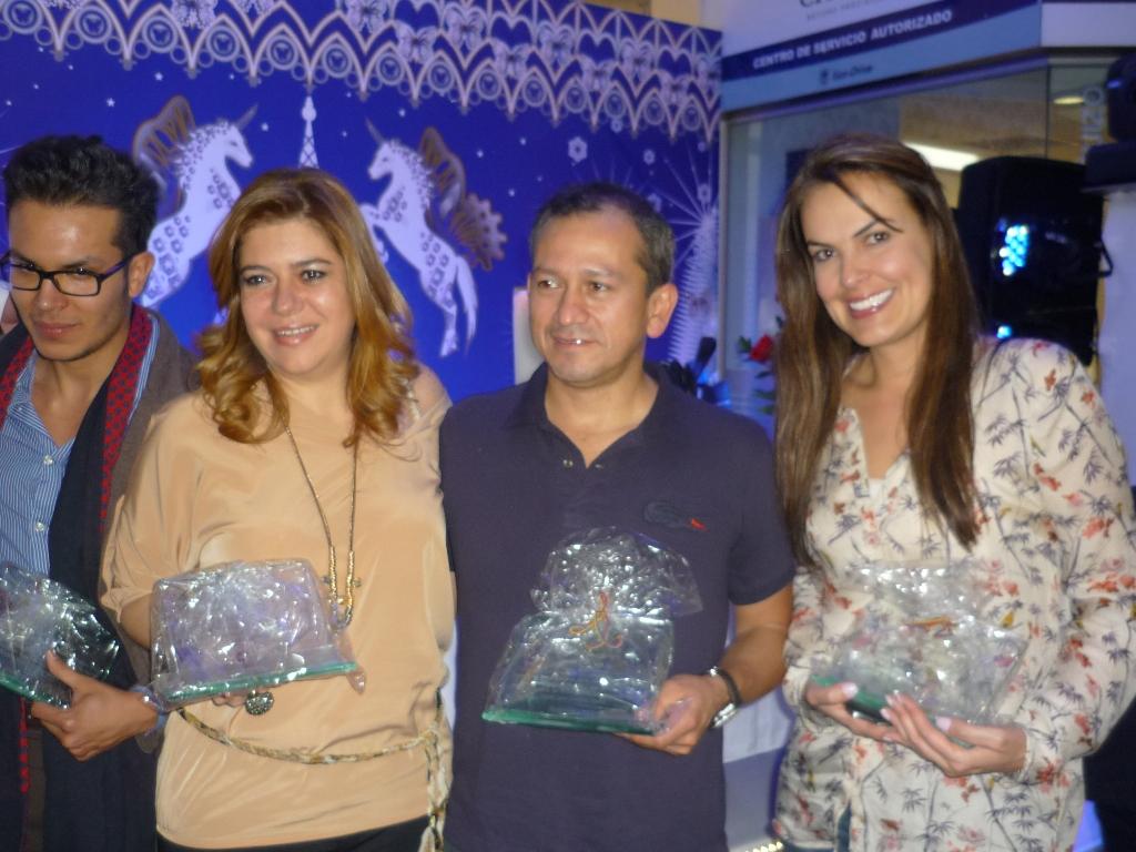 Gustavo Montagut, Liliana Santoro, Henry Cantor and Silvia Fernanda Ortíz