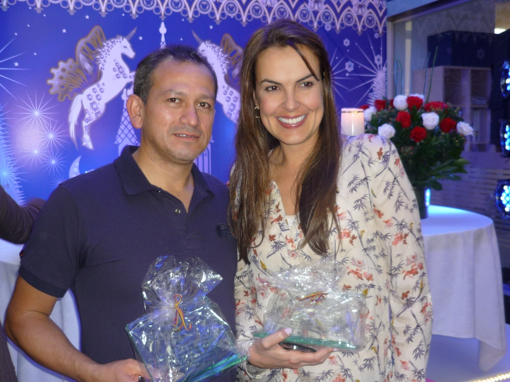 Henry Cantor and Silvia Fernanda Ortíz