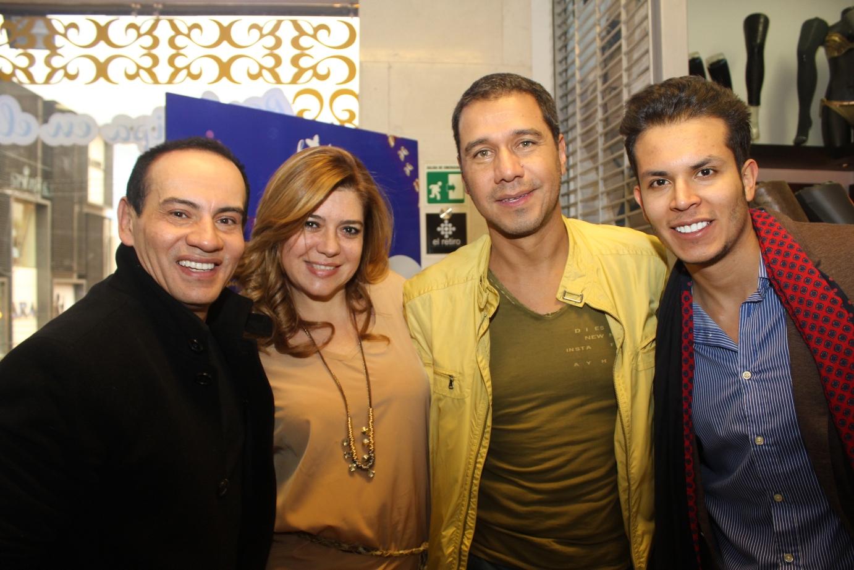 Jorge Efren, Liliana Santoro, Luis Fernando Bravo, Gustavo Montagut