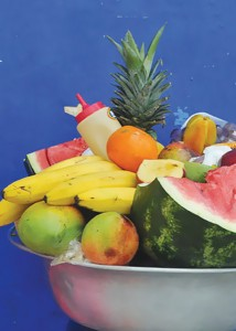 Fruits in Bocachica