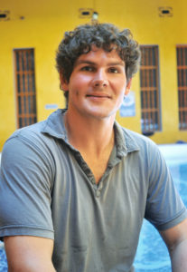 Ryan Dore, founder of La Brisa Loca Hostel in Santa Marta