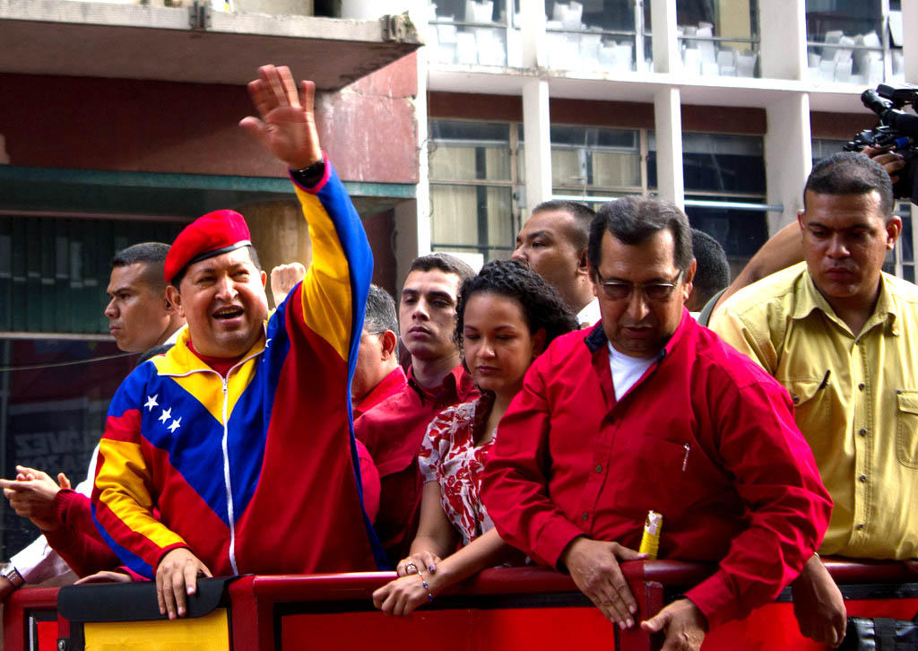 Hugo Chavez by Walter Vargas