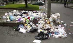 Trash in Bogotá