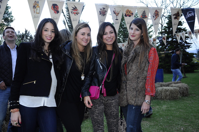Paola Dorronsoro, Annette Klam, Ceci Tirado, Maria Otero