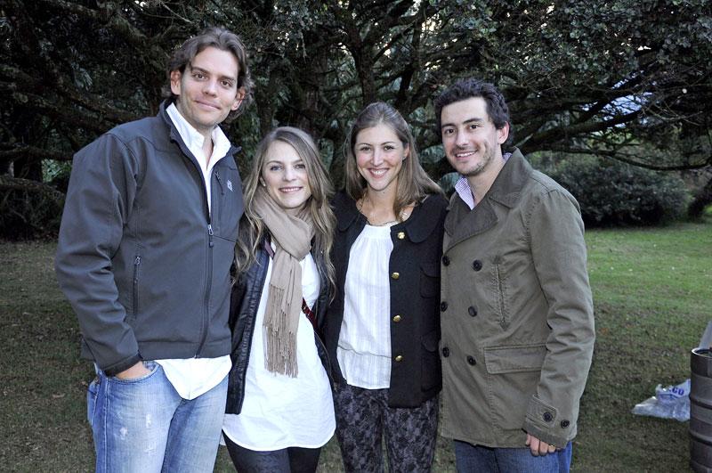 Alejandro Holguin, Ana Trujillo, Laura Arboleda, Daniel Ortiz