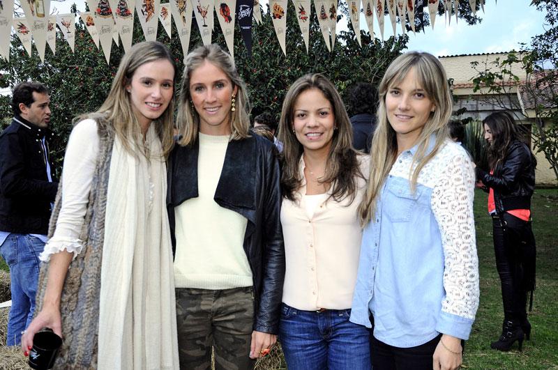 Elsa Pombo, Manuela Castaño, Diana Tovar, Carolina Caicedo