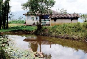 A house in rural Boyacá, Colombia