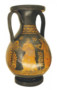 An example of the type of Greek Ceramics to be displayed at the Museo Nacional