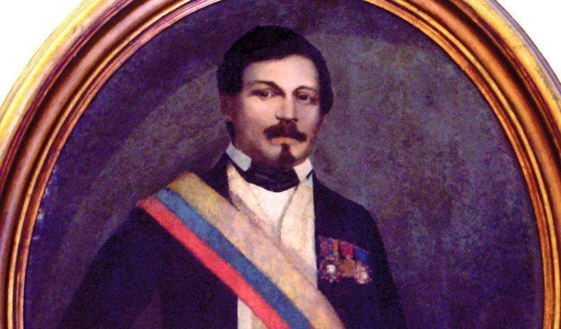 Colombian president Jose Nieto Gil