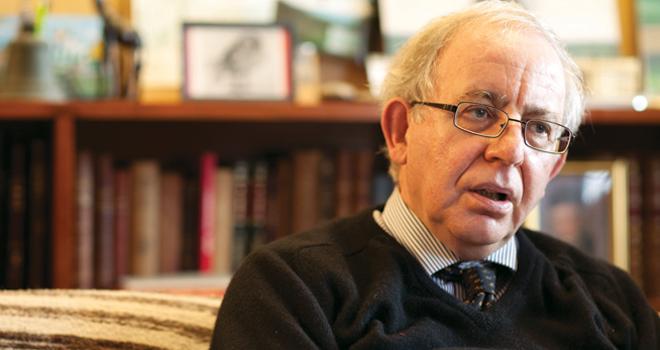 Professor Malcolm Deas by Piers Calvert