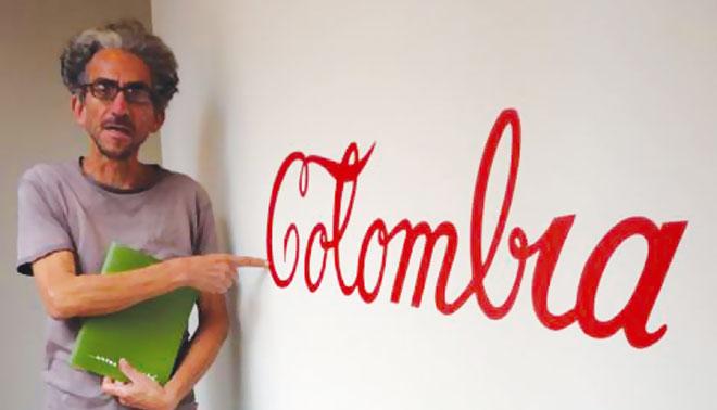 Colombian conceptual artist Antonio Caro