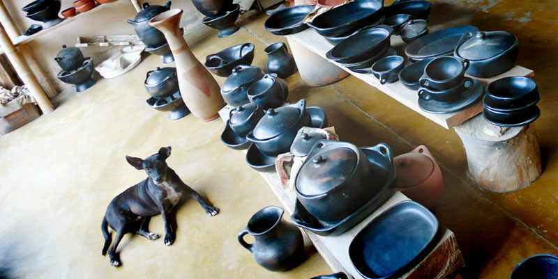 Chamba pottery in Colombia's Magdalena region