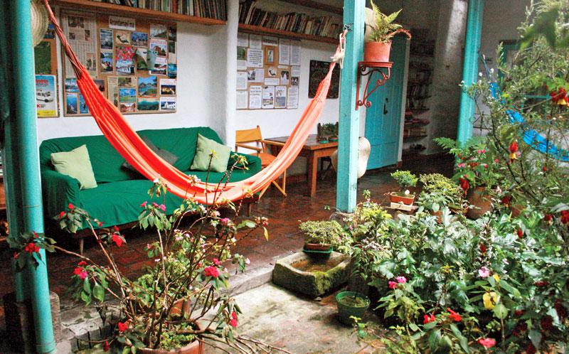 A hostel in Bogotá by Abby Stanglin