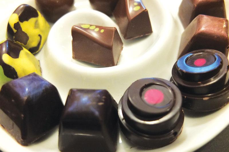 Lachoco Latera artisanal chocolates in Bogotá