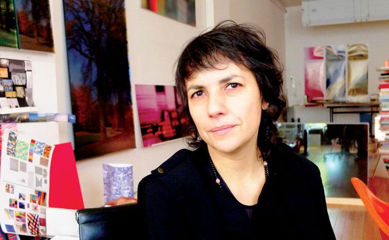 Colombian artist Monika Bravo