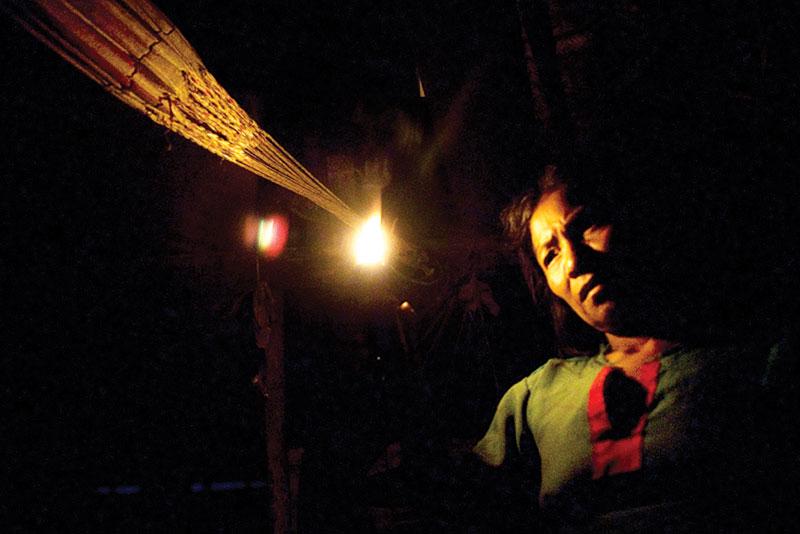An Embera shaman by Benjamin Guez