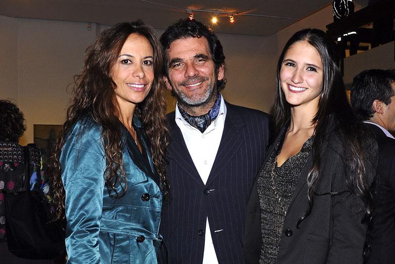 Alexandra Andrade, Ramón Velilla, María Alejandra Velilla