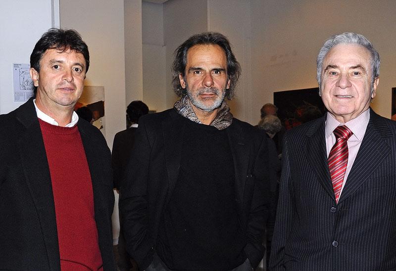 Andrés Delgado, Luis Luna, Eduardo Serrano