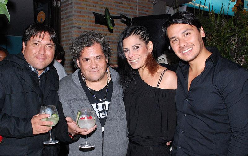 Ricardo Perilla, Dj Fruto Mejía, Cayola Ramos, Jairo Cruz