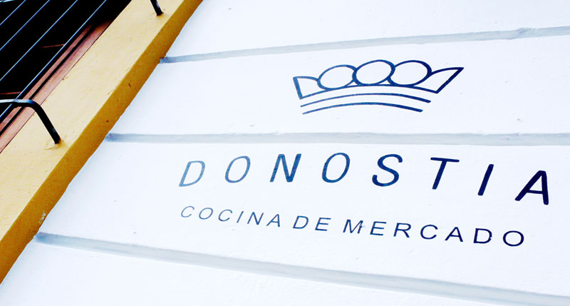 Chef Tomas Rueda serves Spanish cuisine with Colombian ingredients at Donostia