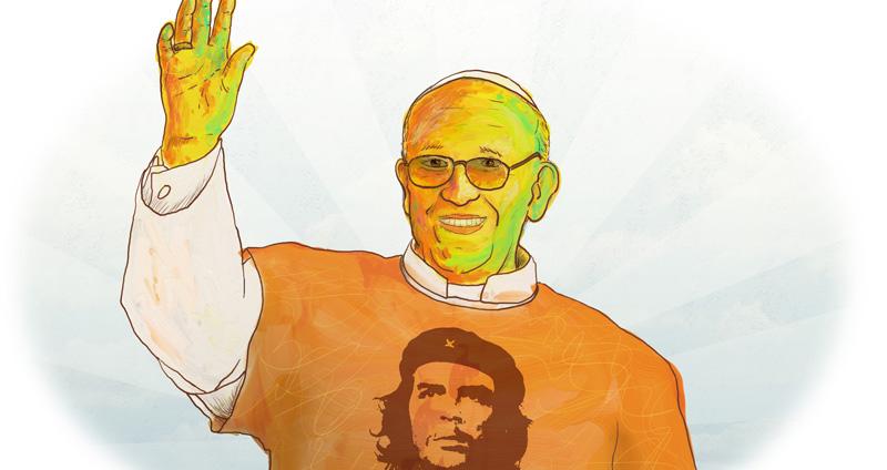 Pope Francis by Beto Barreto