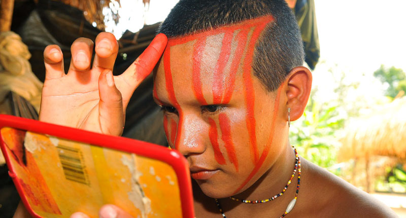 Nukak Maku people in Guaviare