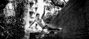 Practicing Parkour is more than just a workout. It encourages concentration and innovation.