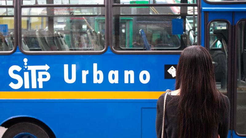 SITP transportation system Bogotá