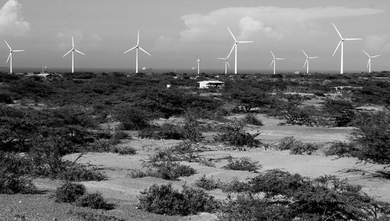 The Jepirachi wind farm in La Guajira, Colombia