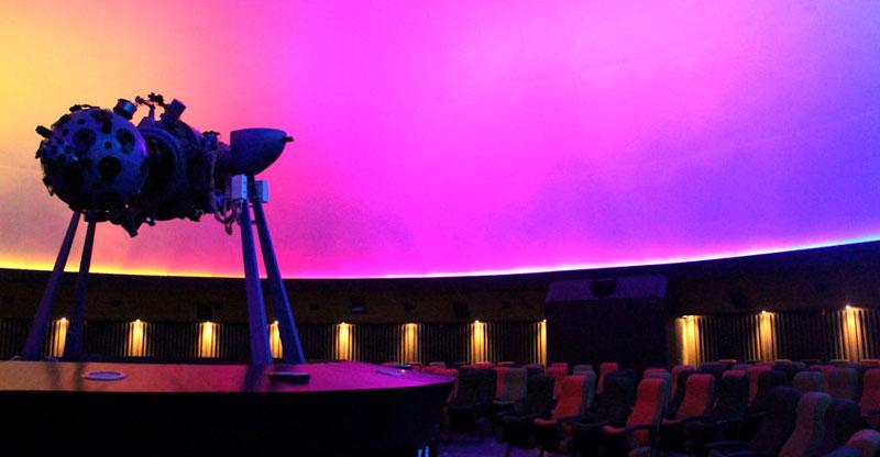 Planetario de Bogotá. Photo courtesy Idartes.