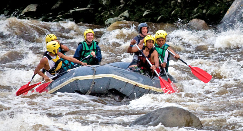 Rafting in Huila, Colombia