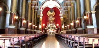 Basilica Voto Nacional in Bogotá