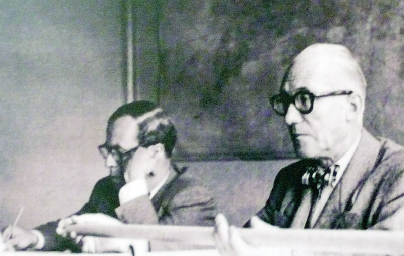 French architect Le Corbusier during many visits to Bogotá worked closely on a master plan.
