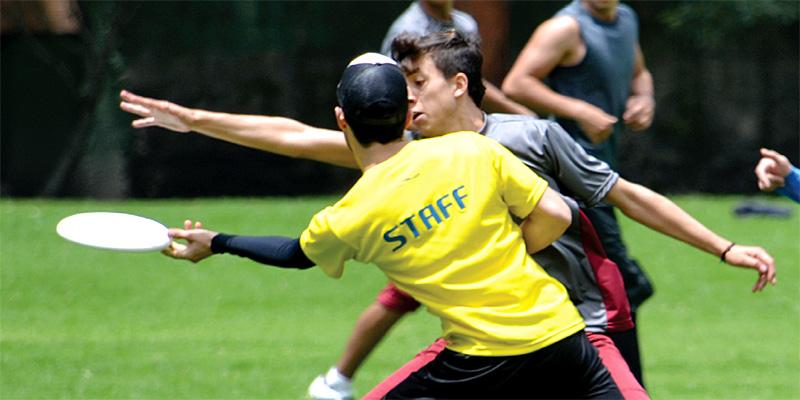 Ultimate Frisbee in Bogotá
