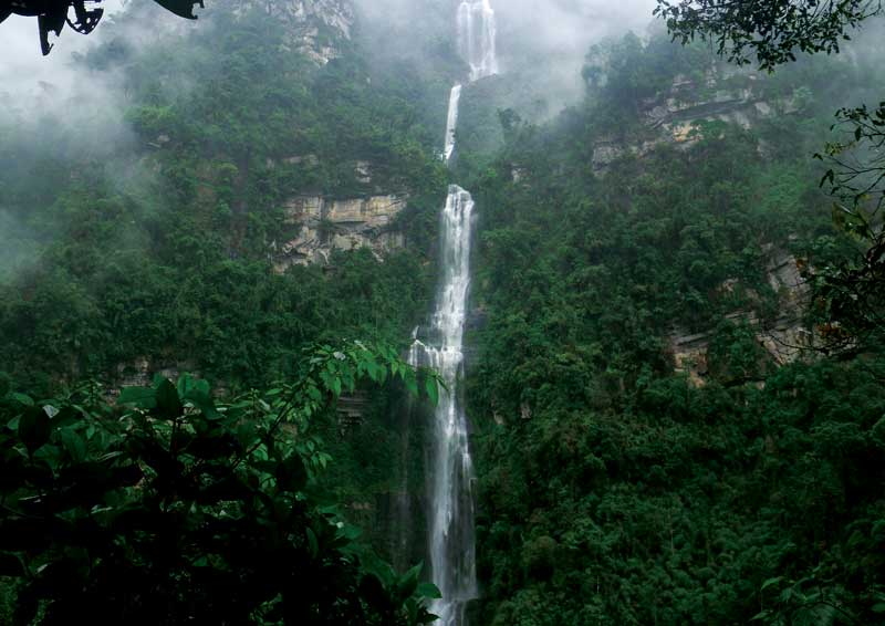 An hour from the capital, La Chorrera is Colombia's highest known waterfall.