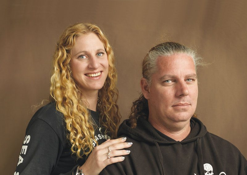 Animal rights activists Verne Dove and husband Troy Saville started the Colombia chapter of Sea Shepherd.