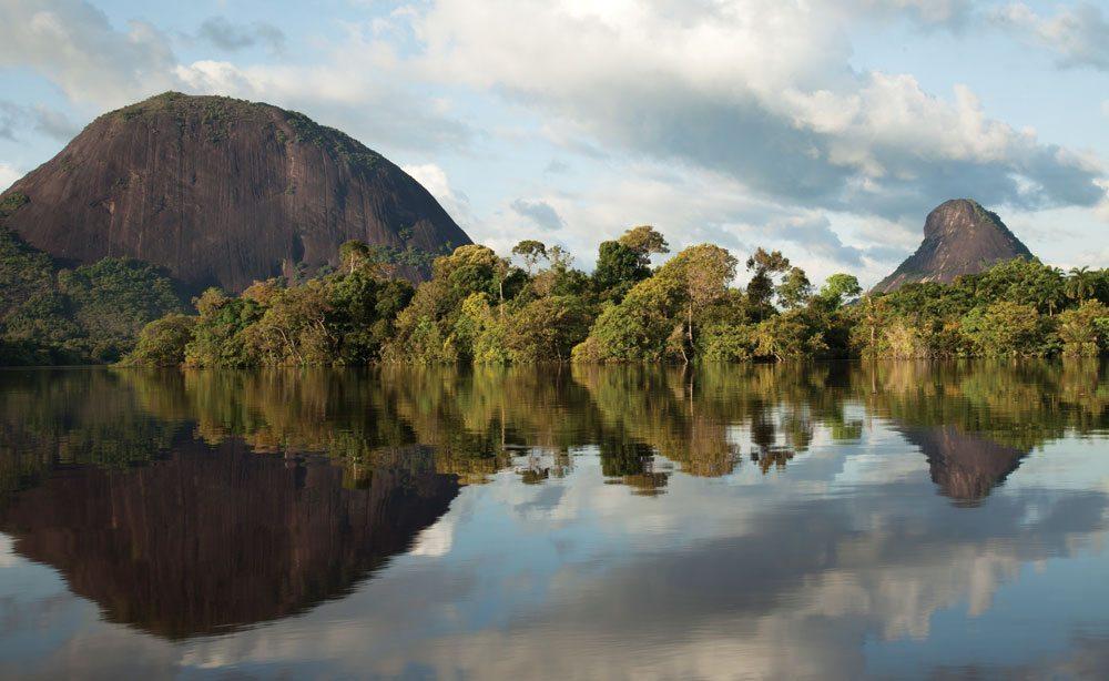 The Mavecuri range in the Colombian Amazon
