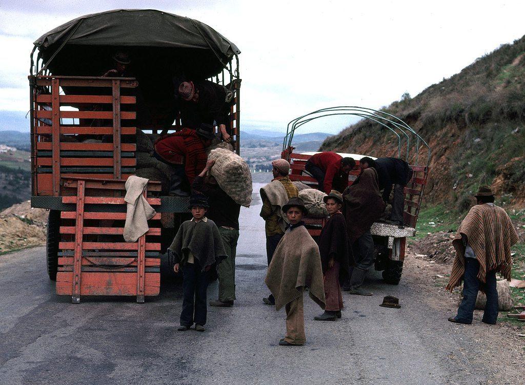The paro agrario is felt acutely in Boyaca.