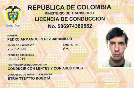 The Ministry of Transport issues new drivers licenses.