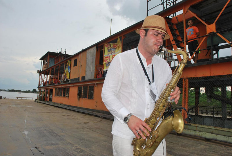 The colonial city of Mompox welcomes Jazz ensembles for its second edition festival.