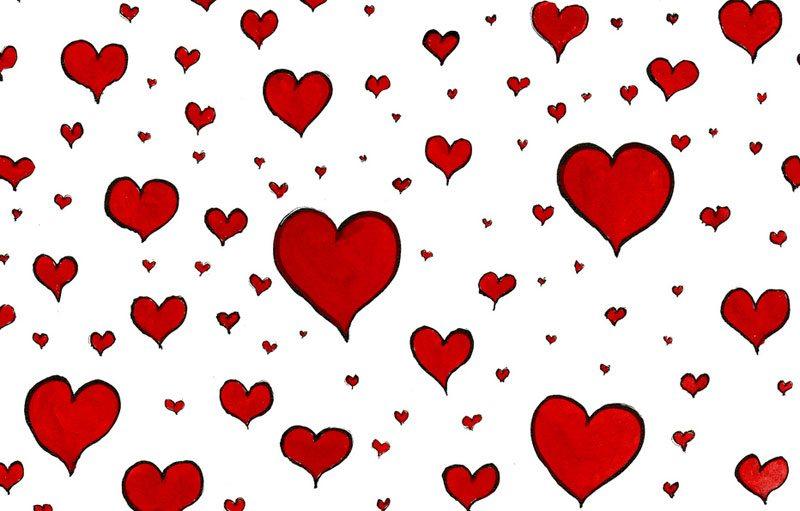 Illustratiion for Love & Friendship month.